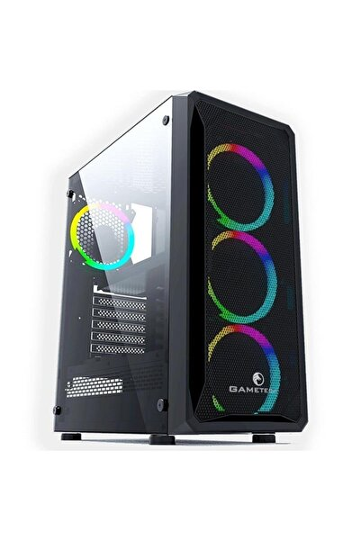 GAMETECH Legend Mesh Panel 4 Adet Raınbow Fan Kasa
