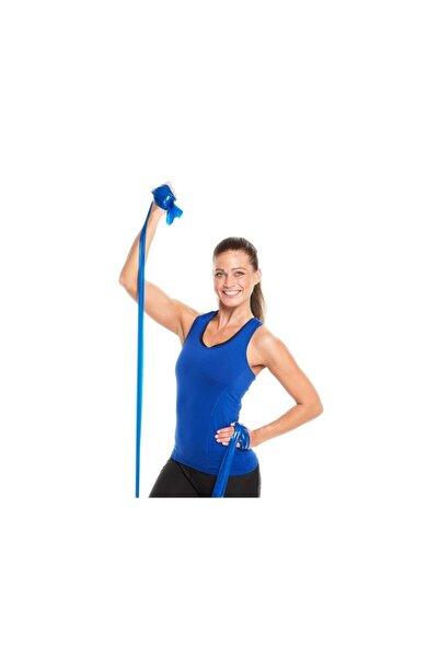 THERABAND Egzersiz Pilates Bandı Mavi Direnç Lastiği 1,5 m