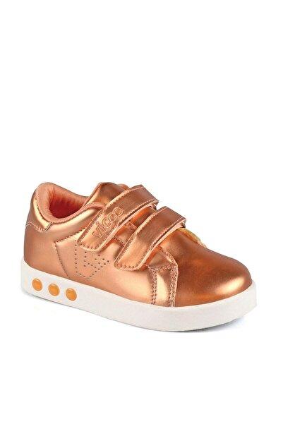 Vicco 313.P19K.200 PATIK IŞIKLI Bronz Kız Çocuk Sneaker Ayakkabı 100530373