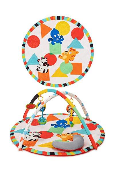 Elele Toys Büyük Boy Geometrik Eğitici Bebek Oyun Halısı