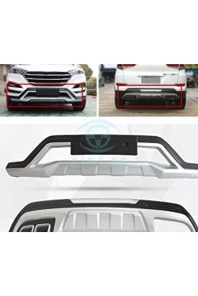 Autokit Hyundai Tucson 2015 Ön Arka Tampon Koruma
