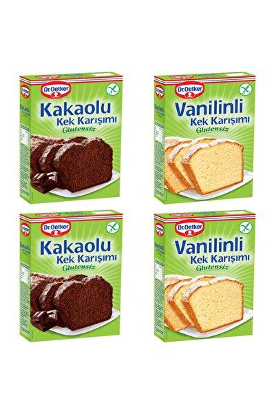 Dr. Oetker Glutensiz 2 Kakaolu Ve 2 Vanilinli Kek Karışımı Paket