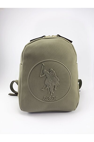 U.S. Polo Assn. Kadın Yeşil Sırt Çantası