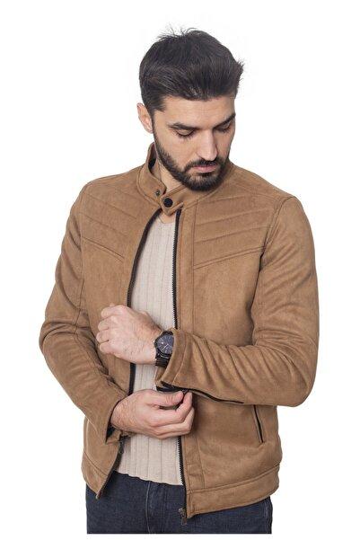 LİON KİNGS Erkek Süet Kahverengi Ceket