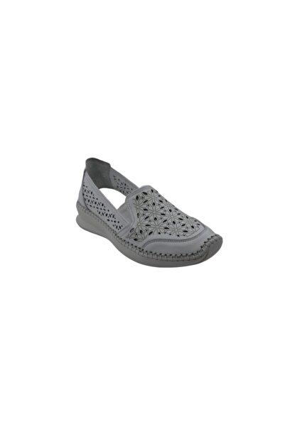 Venüs 1901774 Hakiki Deri Kadın Ayakkabı - - Beyaz - 38