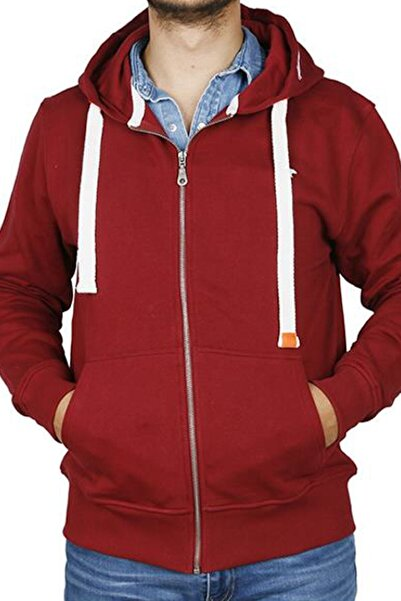 Bad Bear Erkek Solıd Full-zıp Kapişonlu Sweatshirt 18.02.12.009