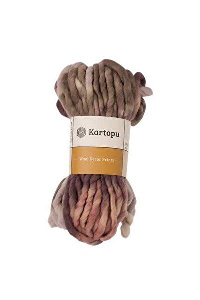Kartopu Wool Decor & Prints El Örgü Saf Yün