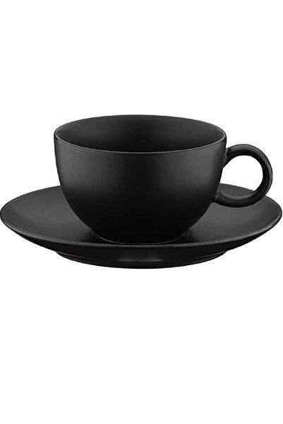 Kütahya Porselen 6 lı   Zeugma Çay Fincanı Ve Tabağı
