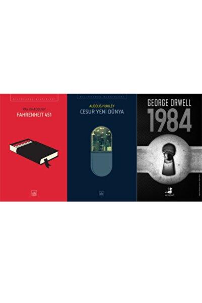 Olimpos Yayınları Fahrenheit 451- Cesur Yeni Dünya - 1984 (en Çok Okunan Bilimkurgu Seti)