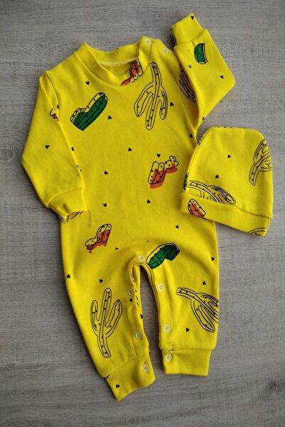 Bebek Exclusive Kaktüslü Bereli Bebek Tulum