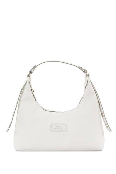 Kadın Beyaz Baguette Çanta 205