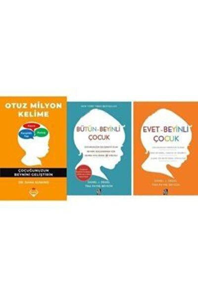 Diyojen Yayıncılık Otuz Milyon Kelime / Evet Beyinli Çocuk / Bütün Beyinli Çocuk 3 Kitap Seti