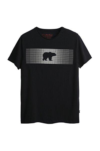 Bad Bear Erkek Siyah Tişört Fancy T-shırt