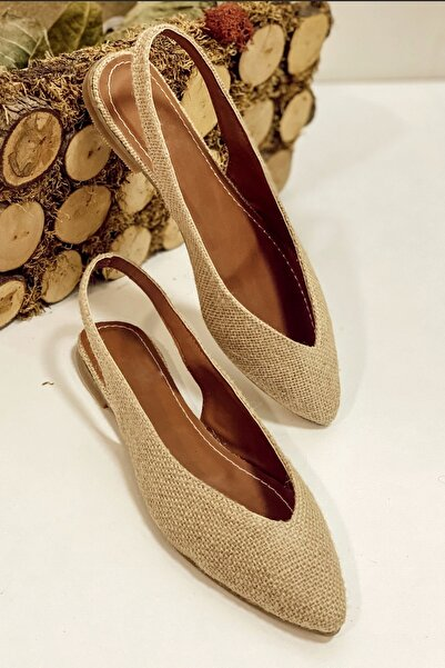 Nil Shoes Nunu Hasır Babet
