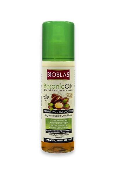 Bioblas Botanıc Oıls Argan Yağlı Sıvı Saç Kremi Sprey 200 Ml