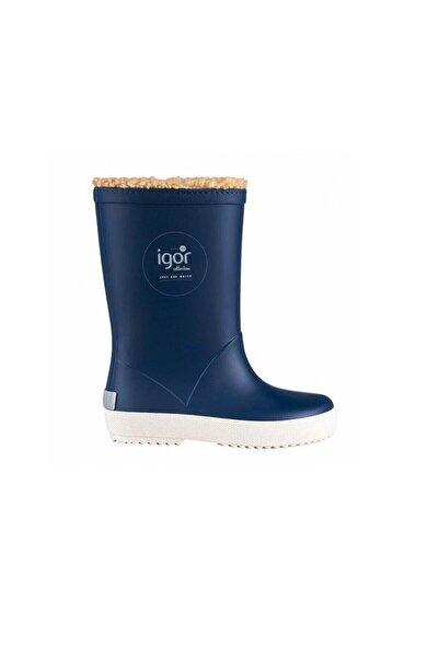 IGOR SPLASH NAUTICO BORREGUITO Mavi Erkek Çocuk Yağmur Çizmesi 100518773