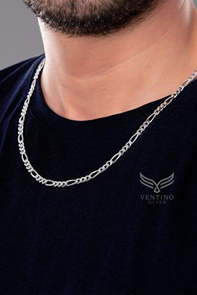Ventino Silver Figaro Gümüş Erkek Zincir Kolye Vek-3024