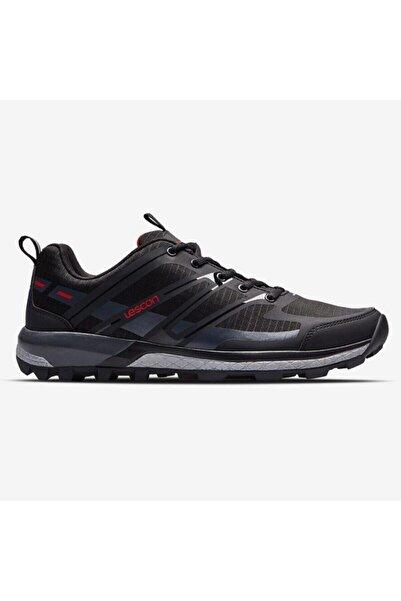 Lescon Trail Axis Siyah Yürüyüş Koşu Bayan Spor Ayakkabı