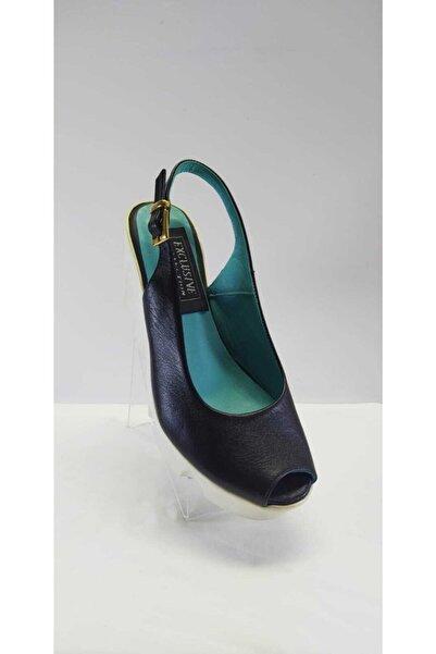 EXCLUSIVE Kadın Siyah Hakiki Deri Günlük Ayakkabı