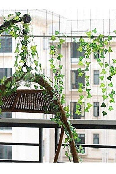 Hediye Vitrini Dekoratif Yapay Sarmaşık Üçgen Yaprak 230 Cm 5 Adet, Yapay Asma Yaprağı