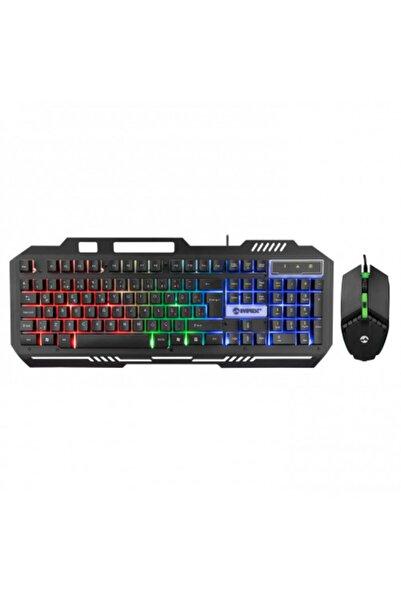 Everest Km-g88 X-drıfter Gaming Gökkuşağı Aydınlatmalı Usb Klavye Mouse Set