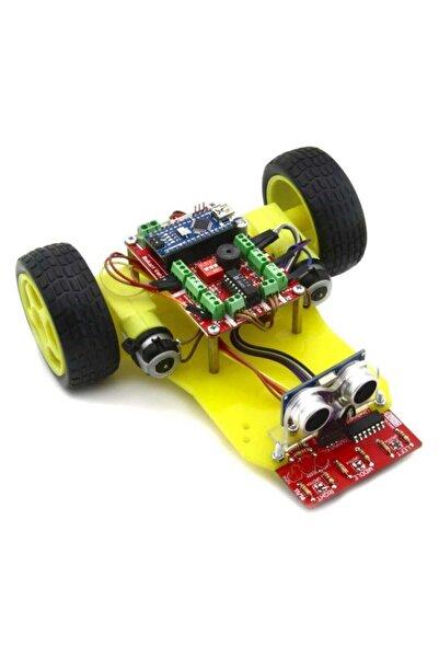 Robotus Duobot Çizgi İzleyen Ve Engelden Kaçan Robot