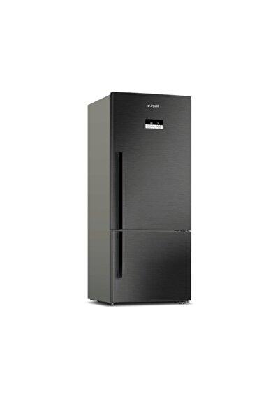 Arçelik 274580 Edı 580 Lt A++ Antresit Siyah No Frost Buzdolabı