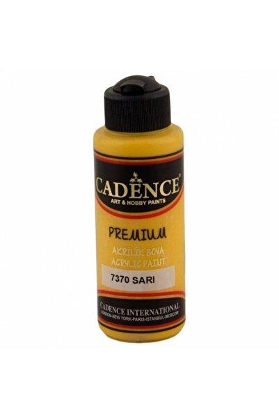 Cadence Premıum Akrılık Boya 7370 Sarı 120 ml