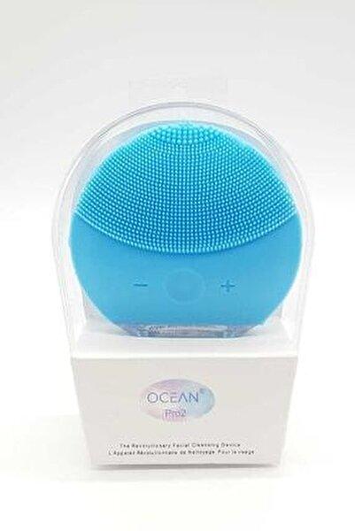 Mavi  Şarj Edilebilir Yüz Temizleme Cihazı