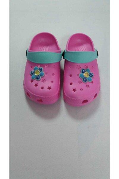 Akınal Bella Kız Çocuk Pembe Mint Terlik Sandalet