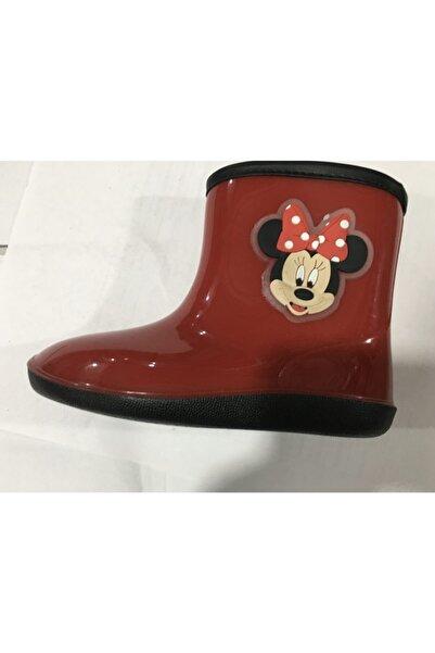 Gigi Kız Çocuk Kırmızı Yağmur Çizmesi