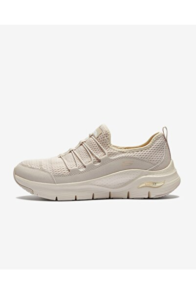SKECHERS ARCH FIT - LUCKY THOUGHTS Kadın Natürel Spor Ayakkabı