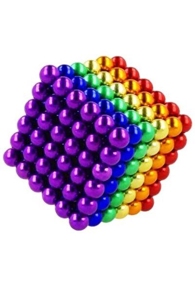Vothoon Boncuk Mıknatıs 216 Adet 5mm Mıknatıslı Lego Magnet Neo Cube Gümüş Neo Karışık