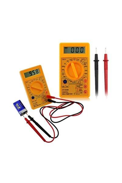 Tvet Dijital Ölçü Aleti Multimetre Voltmetre Ampermetre Cihazı T37763