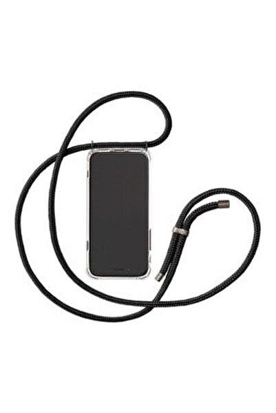 Iphone 6 / 6s Uyumlu  Şeffaf Boyun Askılı Ipli Kılıf