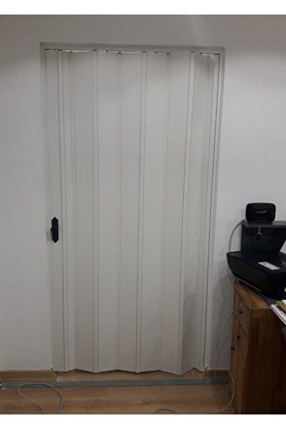 FARAN DEKORASYON Akordiyon Kapı Beyaz Camsız Akordeon