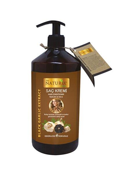 Naturix Tüm Saç Tipleri Için Doğal Siyah Sarımsak Özlü 500 ml Saç Bakım Kremi
