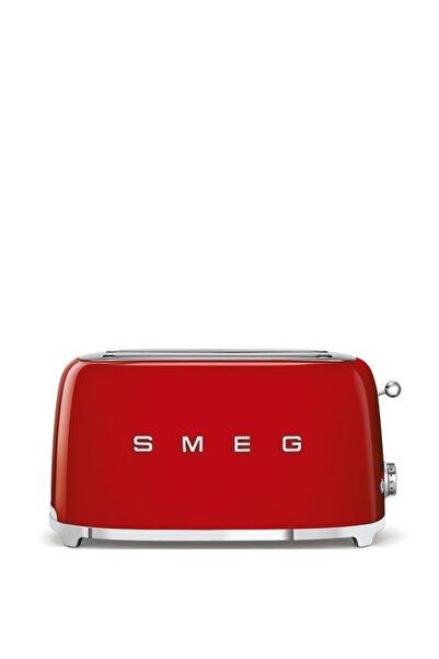 SMEG Tsf02rdeu Retro Kırmızı 2x4 Slot Ekmek Kızartma Makinesi