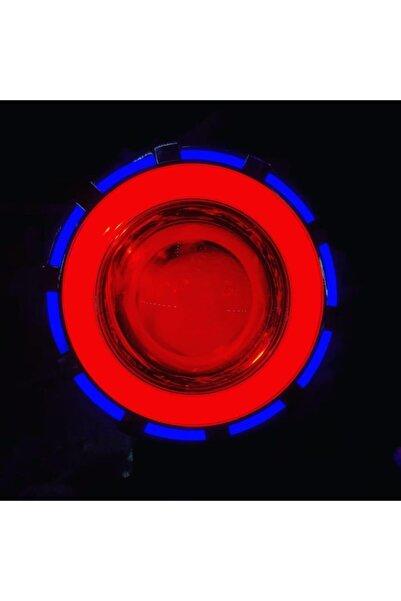 monero Mavi- Kırmızı Çakarlı-ledli Angel Far