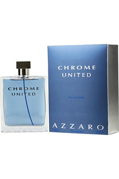 Azzaro Chrome United Edt 200 ml Erkek Parfümü 3351500958245