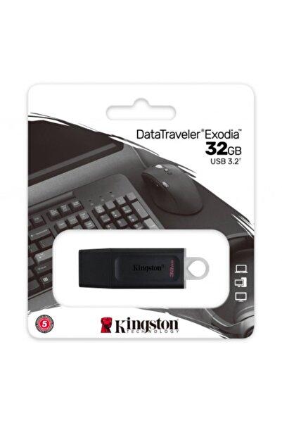 Kingston Kıngston Dtx/32gb Usb 3.2 Data Traveler Exodia Gen 1 Flash Disk (siyah - Beyaz)
