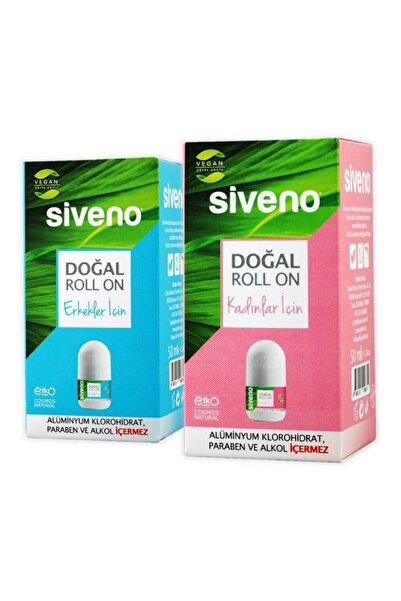 Siveno Doğal Roll-on Kadın ve Erkek 50 ml Avantajlı Set