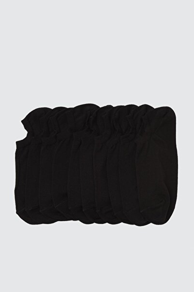 TRENDYOL MAN Siyah 5'li Paket Suba Spor Çorap TMNSS20CO0022