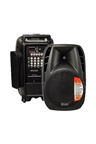 Provoice Vpx-12 Ac Taşınabilir Ses Sistemi 12 Inç 250 Watt