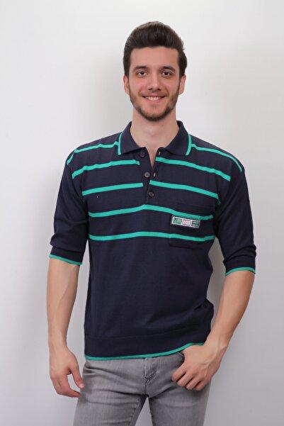 Sude Erkek Yeşil Çizgili T-Shirt