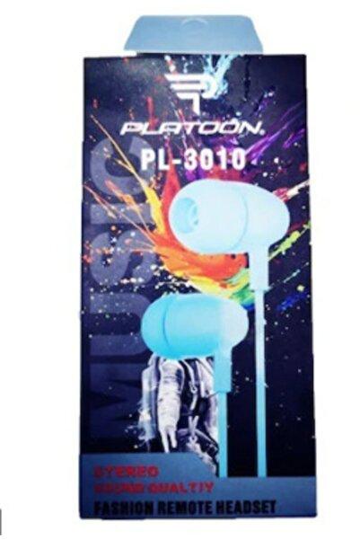 Platoon Pl-3010 Extra Bass Yüksek Ses Mikrofonlu Kulaklık-mavi
