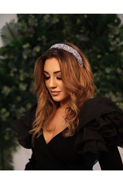 G.ÖNAL Kadın Lila Dogal Taşlı Lüx Limited Edition Taç