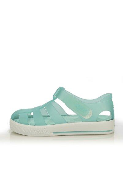 IGOR Unisex Çocuk Turkuaz Sandalet S10171 Star