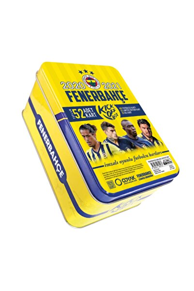 ODYAK Fb Fenerbahçe 2020-2021 Lisanslı Imzalı Sezon Taraftar Futbolcu Oyuncu Futbol Kartları Kick Off Box