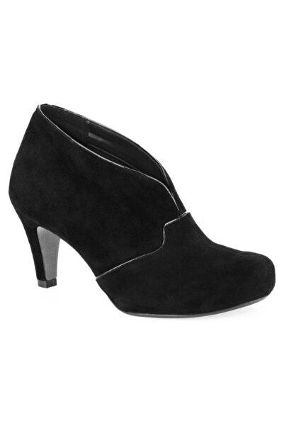 CLARKS Kadın Ayakkabı Siyah Süet Yüksek Topuklu Şık Ve Rahat Chorus Spirit